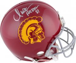 Marcus Allen USC Trojans Autographed Riddell Pro-Line Authentic Helmet with Heisman 81 Inscription
