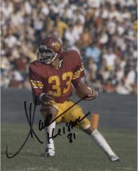 """Marcus Allen USC Trojans Autographed 8"""" x 10"""" Vertical Cutting Photograph"""