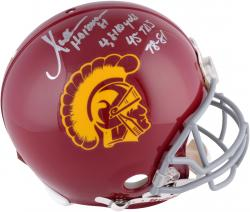 Marcus Allen USC Trojans Autographed Riddell Pro-Line Authentic Helmet-#2-23 of a Limited Edition of 24