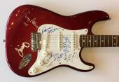 Allman Brothers AutographeD Guitar Signed Gregg Butch Dickie Jaimo  PSA DNA Coa
