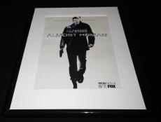 Almost Human 2013 Framed 11x14 ORIGINAL Vintage Advertisement JJ Abrams