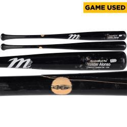 Yonder Alonso San Diego Padres 5/5/14 vs. Kansas City Royals Game-Used Single Broken Bat