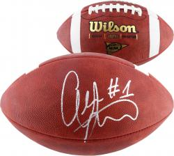 Alshon Jeffery South Carolina Gamecocks Autographed Wilson NCAA Football - Mounted Memories