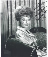 "AMANDA BLAKE as MISS KITTY in ""GUNSMOKE"" TV Series (Small Creases Top Corners) Signed 8x10 B/W Photo"