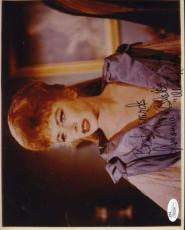 Amanda Blake Miss Kitty Gunsmoke Jsa Coa Hand Signed 8x10 Photo  Autograph