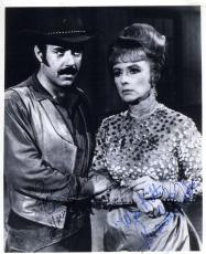 Amanda Blake Pernell Roberts Jsa Hand Signed  Photo Authentic Autograph Gunsmoke