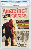 Amazing Adult Fantasy #7 Cgc 8.5 Oww 1st Issue Stan Lee Story Cgc  #1291461001