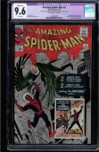 AMAZING SPIDER-MAN #2 CGC 9.6 1ST APPEARANCE OF THE VULTURE #1262383002 Restored