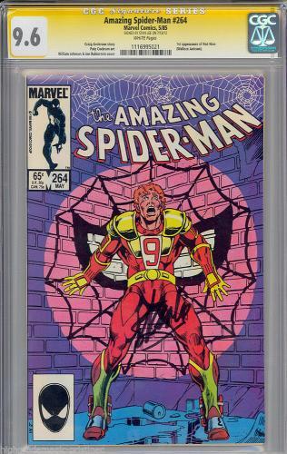Amazing Spider-man #264 Cgc 9.6 W Ss Stan Lee  Cgc #1116995021