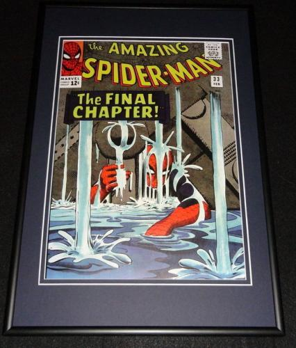 Amazing Spider-Man #33 Framed 12x18 Cover Photo Poster Display Official Repro