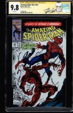 Amazing Spider-man #361 Cgc 9.8 Ss Stan Lee New Label 1st Carnage  #1508498010