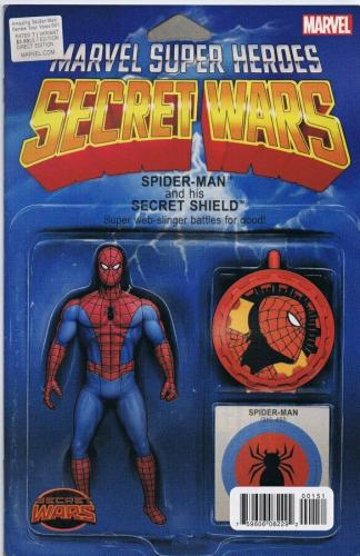 Amazing Spider-Man Renew Your Vows #1 JTC 2015 Secret Wars Action Figure Cover