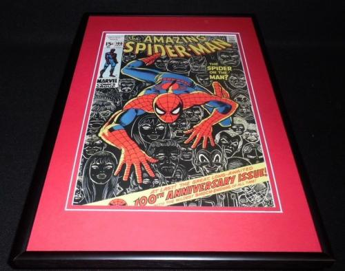 Amazing Spiderman #100 Framed 12x18 Cover Poster Display Official RP