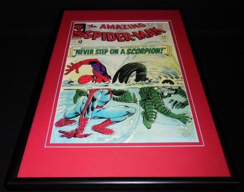 Amazing Spiderman #29 Framed 12x18 Cover Poster Display Official RP Scorpion