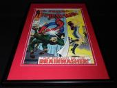 Amazing Spiderman #59 Framed 12x18 Cover Poster Display Official RP Brainwasher