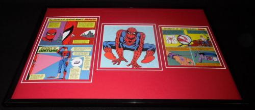 Amazing Spiderman Secrets of Costume Framed 11x17 Photo Display Official Repro