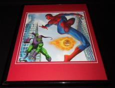 Amazing Spiderman vs Green Goblin Framed 11x14 Photo Display