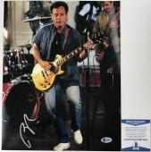 AMAZING! SUPER RARE Billy Joel Signed LIVE 11x14 Photo #2 BAS Beckett