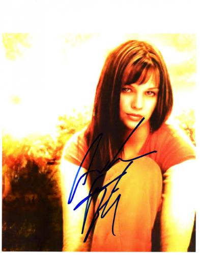 Amber Tamblyn Autographed Signed Photo Joan of Arcadia   AFTAL