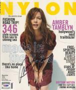 Amber Tamblyn Signed Auto'd Nylon Magazine PSA/DNA COA