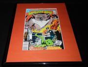 Ambush Bug #2 DC Comics Framed 11x14 ORIGINAL Comic Book Cover