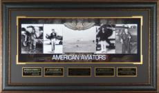AMERICAN AVIATORS Laser Signed Photo Display