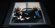 American Graffiti Cast Framed 11x14 Photo Display Harrison Ford Suzanne Somers