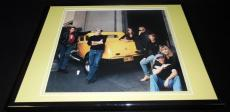 American Graffiti Cast Reunion Framed 11x14 Photo Display George Lucas