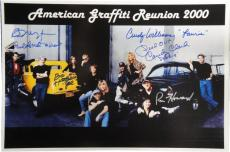 American Graffiti Signed 12x18 Photo Richard Dreyfuss Ron Howard Paul Le mat +2