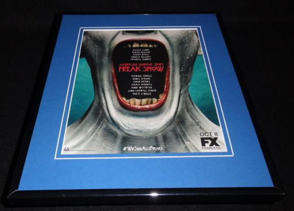 American Horror Story AHS 2014 Framed 11x14 ORIGINAL Advertisement FX