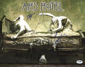 American Horror Story (Evan Peters, Sarah Paulson +4) Signed 11X14 PSA #AB10811