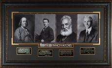 AMERICAN INNOVATORS Laser Signed Display Henry Ford