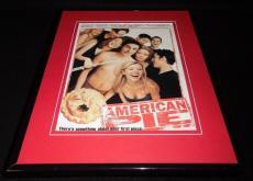 American Pie 1999 Framed 11x14 ORIGINAL Vintage Advertisement Tara Reid
