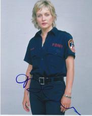 Amy Carlson Signed 8x10 Photo Authentic Autograph Blue Bloods Cbs Coa