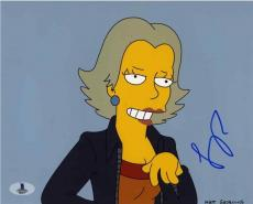 Amy Poehler Simpsons Autographed Signed 8x10 Photo Beckett BAS COA