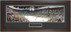 Anaheim Ducks 2003 Stanley Cup Final Framed Panoramic Photo