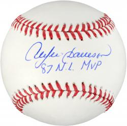 Andre Dawson Autographed Baseball with 87 NL MVP Inscription