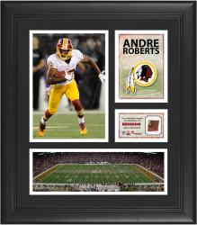 Andre Roberts Washington Redskins Framed 15'' x 17'' Collage with Game-Used Football