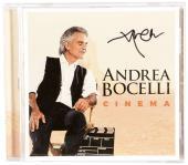 Andrea Bocelli Autographed Cinema CD Cover - PSA/DNA COA