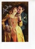 ANDREA BOCELLI HAND SIGNED 4x6 COLOR PHOTO+COA      INCREDIBLE POSE  OPERA TENOR