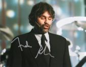 ANDREA BOCELLI HAND SIGNED 8x10 COLOR PHOTO+COA       HANDSOME OPERA TENOR