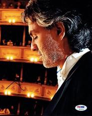 Andrea Bocelli Opera Legend Signed Autographed 8x10 Photo PSA/DNA #W10572