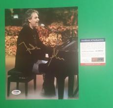 """Andrea Bocelli Rare Autographed 8"""" X 10"""" Photo Signed In Person With Psa/dna Coa"""