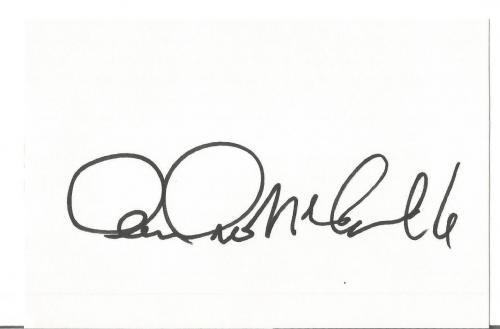 "Andrea Mcardle ""annie Album"" Signed Autographed 4x6 Index Card W/coa Authentic B"