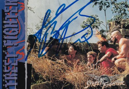 Andrew Bryniarski Signed 1995 Street Fighter Movie Upper Deck Card #38 Auto 1994