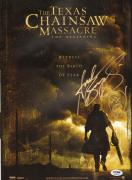 Andrew Bryniarski Signed Texas Chainsaw Massacre The Beginning 11x17 Poster PSA