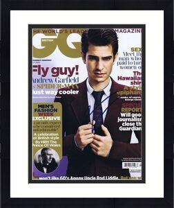 Andrew Garfield Signed 2012 British GQ Magazine Spiderman JSA