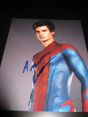 ANDREW GARFIELD SIGNED AUTOGRAPH 8x10 AMAZING SPIDERMAN
