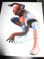 ANDREW GARFIELD SIGNED AUTOGRAPH 8x10 PHOTO AMAZING SPIDERMAN PROOF COA NYC K