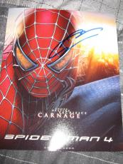 ANDREW GARFIELD SIGNED AUTOGRAPH 8x10 PHOTO AMAZING SPIDERMAN PROOF COA NYC P